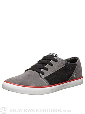 Volcom Grimm Shoes Red Combo