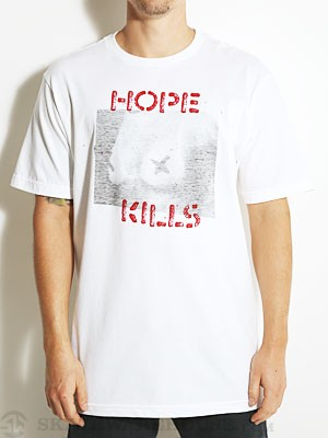 Volcom Hope Kills Tee White SM