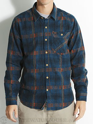 Volcom Harry L/S Flannel Shirt Blue/ESB LG