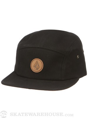 Volcom Killing It 5 Panel Hat Black Adjust