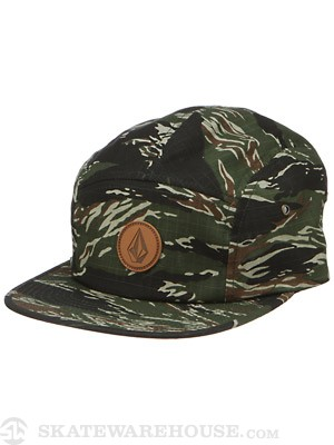 Volcom Killing It 5 Panel Hat Camo/CAM Adjust