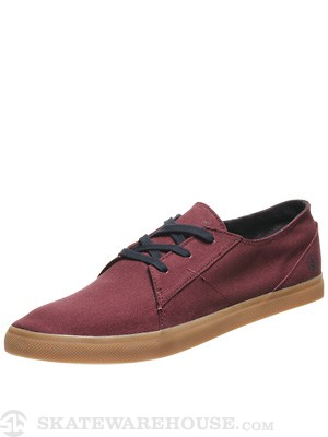 Volcom Lo Fi Shoes  Burgundy