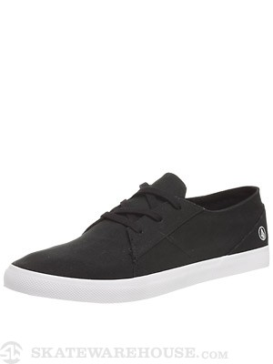Volcom Lo Fi Shoes  Black