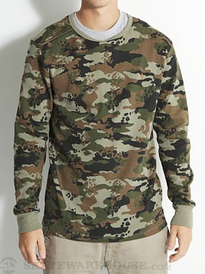 Volcom Lingo Thermal Shirt Military/MIL SM