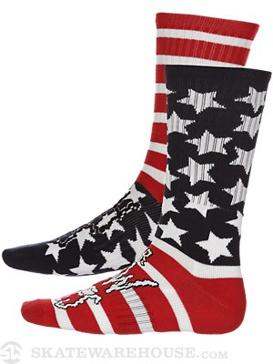 Volcom Low Life Socks Red