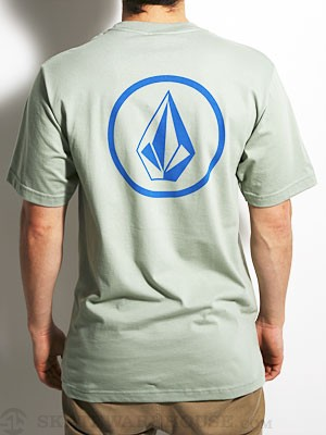 Volcom Mini Circle Stone Tee Army/FDR MD