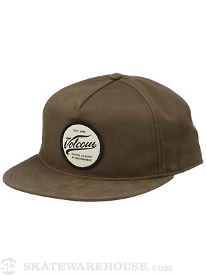 Volcom Mirror Adjustble Hat Military/MIL Adj.