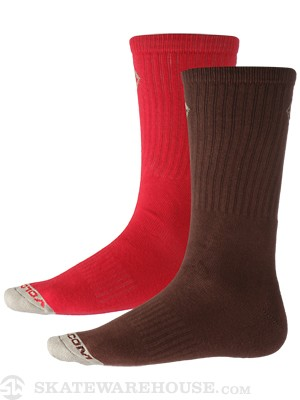 Volcom Mix Stone Socks Brown/BRN