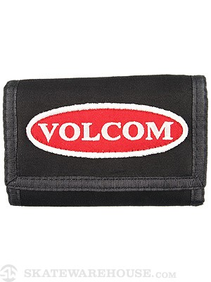 Volcom Patches 3-Fold Wallet Black