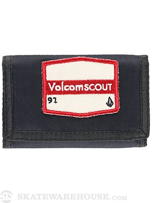 Volcom Patches 3-Fold Wallet Navy