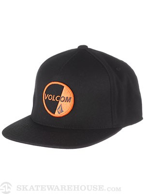 Volcom Public Hat Black Adjust