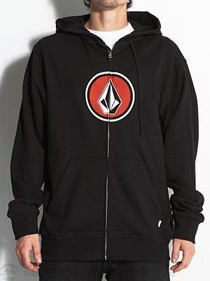 Volcom Pure Fun Hoodzip Black MD