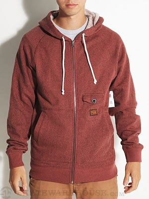 Volcom Phenom Custom Hoodzip Brick/BRK MD