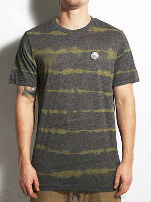 Volcom Pineapple Stripe Tee Charcoal/CHH XL