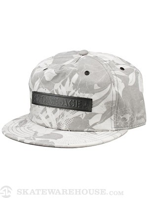 Volcom Stone Age Printed Guy Hat Black Adjust