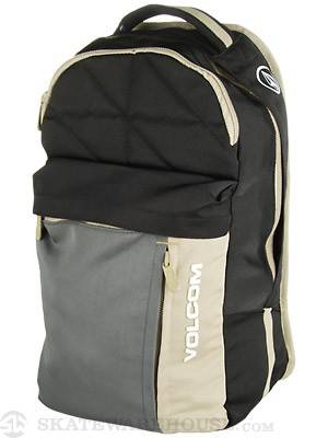 Volcom Prohibit Solid Backpack Black/Charcoal/BCH