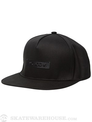 Volcom Stone Age Label Hat Black Adjust