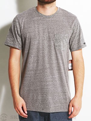 Stone Age Midtown Pocket Crew Shirt Pewter/PEW SM
