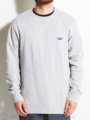 Stone Age Wallows Crew Sweatshirt Heather Grey SM