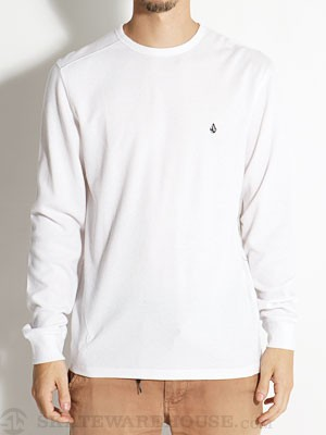 Volcom Schmasic Thermal Shirt White SM