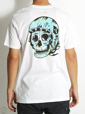 Volcom Shawn Higgins Muttin Tee White SM