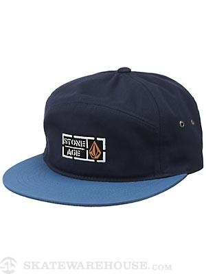 Volcom Stone Age Solid Break Hat Dark Navy Adj.