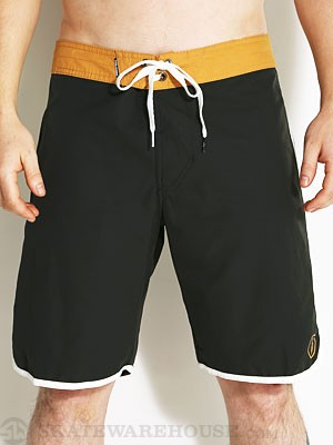 Volcom Solid Scallop Boardshorts Black 28