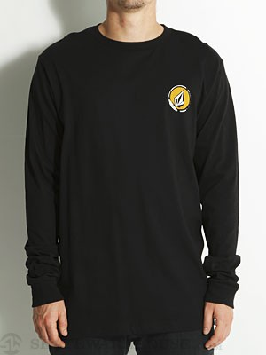 Volcom Steeped L/S Tee Black MD