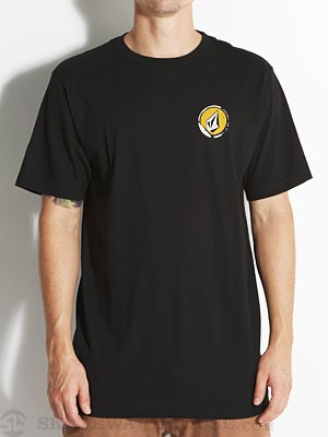 Volcom Steeped Tee Black SM