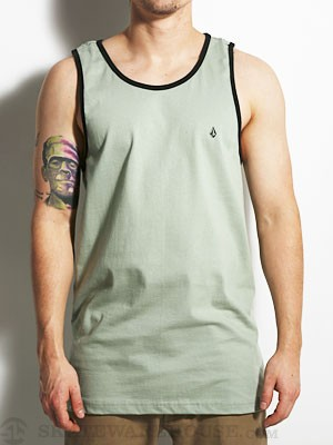 Volcom Standard Staple Tank Top Army/FDR SM