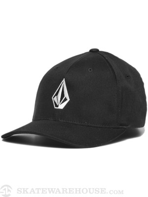 Volcom Full Stone XFit Hat Black SM/MD