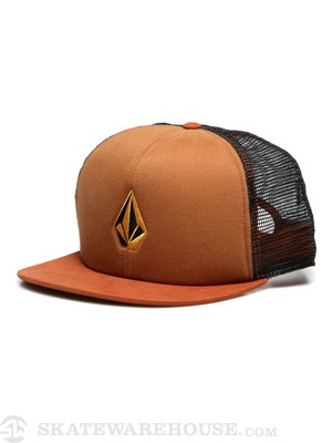 Volcom Tradition Mesh Hat Copper/COP Adj.