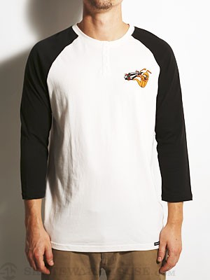 Volcom x Toy Machine 3/4 Sleeve Shirt White SM