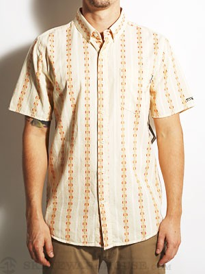 Volcom x Toy Machine S/S Woven Shirt Bone SM
