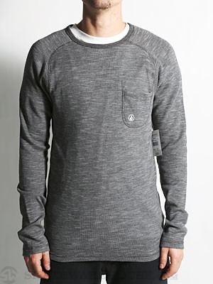 Volcom Upgrade Thermal Shirt Charcoal SM