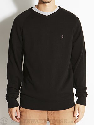 Volcom Understated Sweater Black LG
