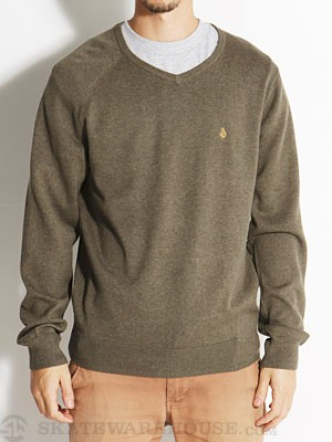 Volcom Understated Sweater Military/MIL MD