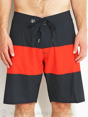 Volcom V4S Stripe Boardshort Navy/Red/NVR 36