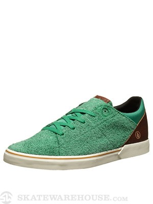Volcom Vulture Shoes Grass Green