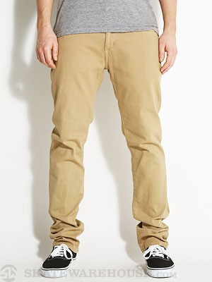 Volcom Vorta SGene Colored Denim Khaki 30
