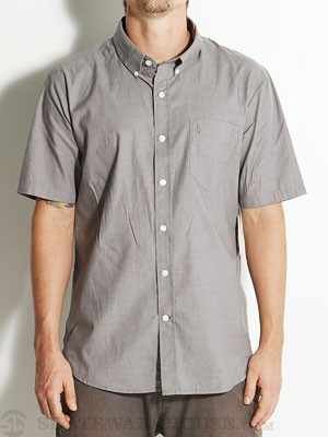 Volcom Why Factor Oxford S/S Woven Shirt Metal MD