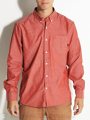 Why Factor Oxford L/S Woven Shirt Rust/RST SM