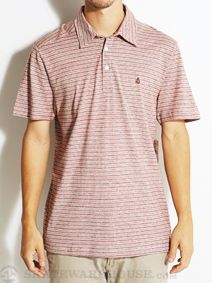 Volcom Wowzer Mini Polo Shirt Burnt Sienna/BRT S