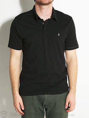 Volcom Wowzer Polo Shirt Black SM