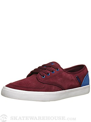 Vox Classx Shoes Burgandy/Blue/White
