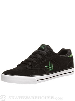 Vox Lockdown Shoes  Black/Castle Green/White