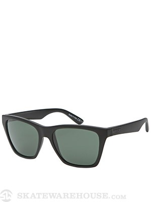 Von Zipper Booker Black Satin/Vintage Grey Lens