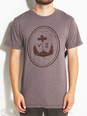 Von Zipper Bilge Rat Tee Heather Grey SM