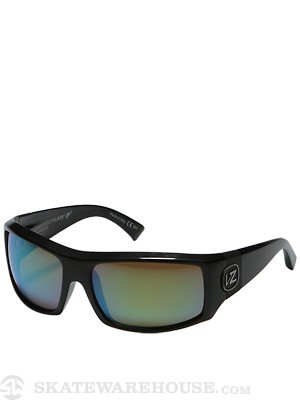 VZ Clutch Glass Polarized Blk Gloss/Grn Chrome