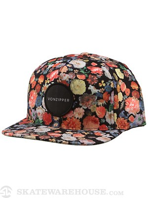 Von Zipper Daisy Hat Multi Adjust